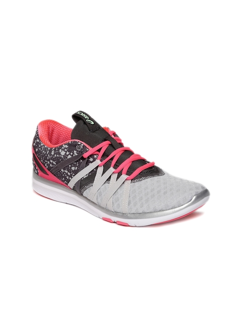 ASICS Women Grey Gel-Fit Yui Running Shoes  available at myntra for Rs.3499
