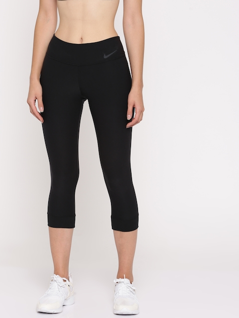 Nike Women Black AS W NK PWR LGND CROP Tights