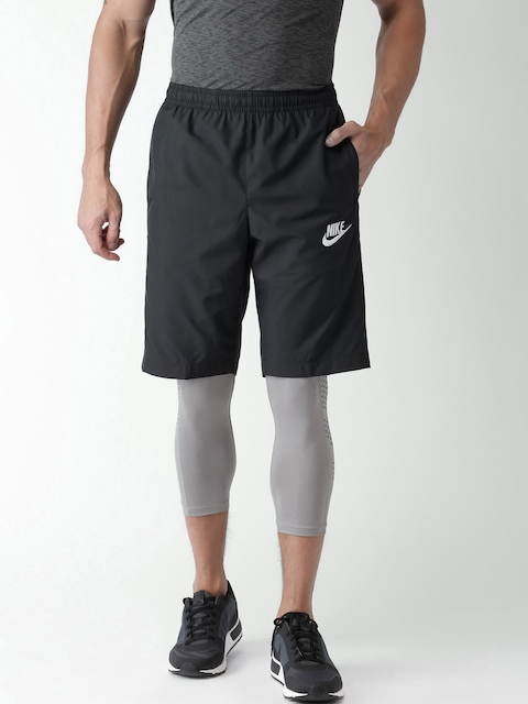 Nike Black AS NSW Standard Fit Sports Shorts