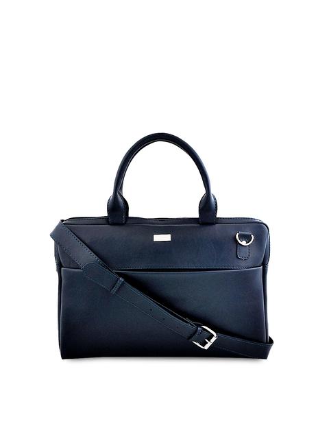 yelloe Unisex Blue Laptop Bag