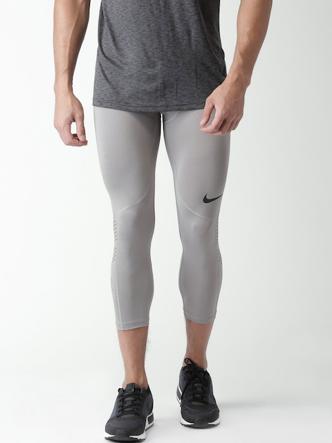 Nike Grey AS NP HPRCL 3/4th Tights