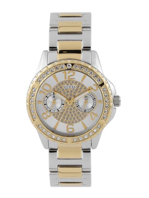 Guess W0705L4 Silver Analog Dial Women's Watch (W0705L4)