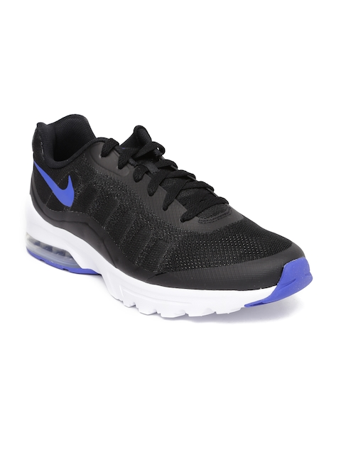 Nike Men Black Air Max Invigor Sneakers  available at myntra for Rs.2188