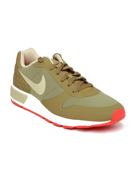 Nike Men Khaki Nightgazer LW Sneakers