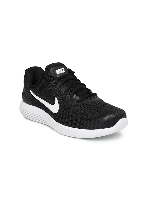 Nike Women Black Lunarglide 8 Running Shoes