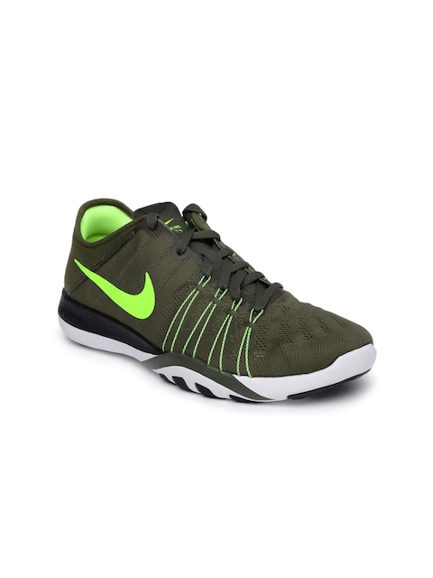 Nike Women Olive Training Shoes