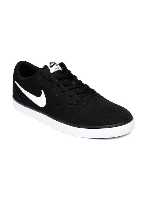 Nike Men Black SB CHECK SOLAR Sneakers
