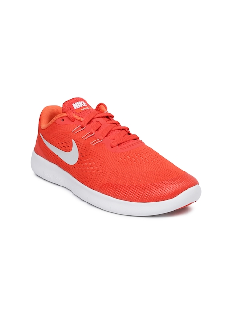 Nike Boys Orange Free RN (GS) Running Shoes  available at myntra for Rs.1618