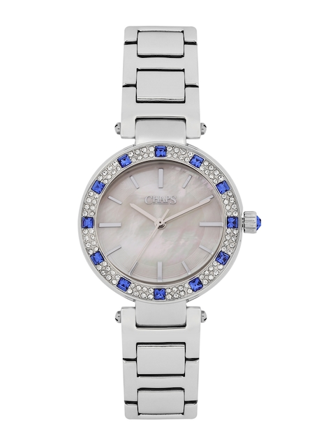 CHAPS Women Mother-of-Pearl Embellished Analogue Watch CHP3014I