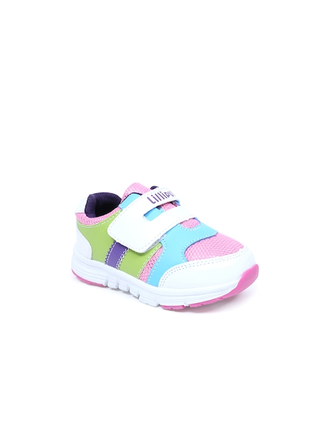 Lilliput Girls Multicolour Colourblocked Casual Shoes