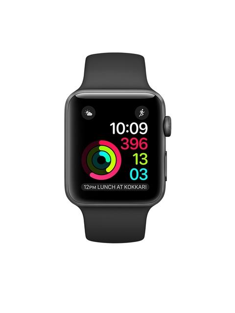 Apple Series 1 Unisex Black 38 mm Smart Watch