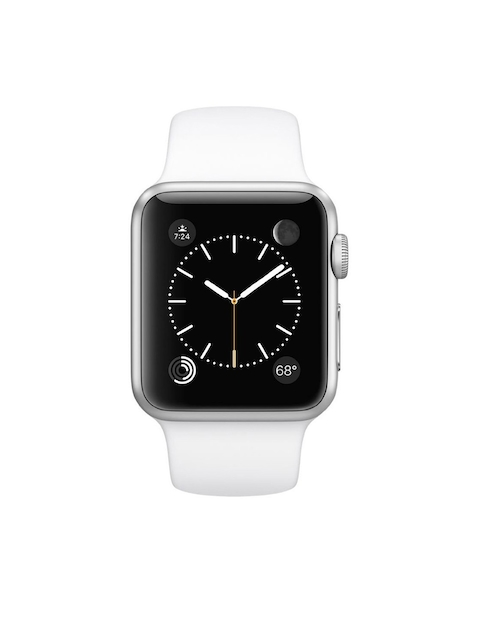 Apple Series 1 Unisex White 38 mm Smart Watch