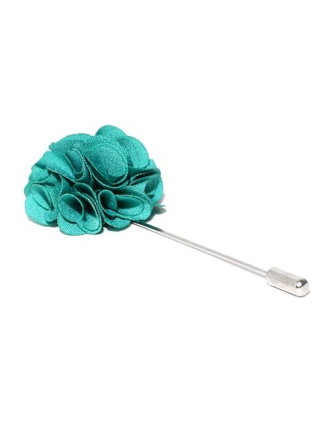 The Bro Code Green Floral Lapel Pin