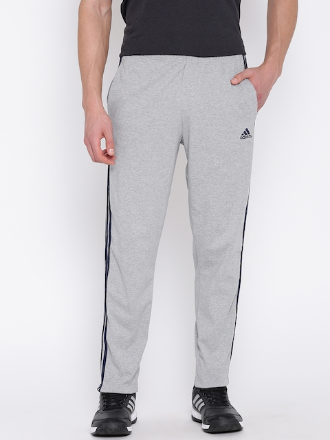 Adidas Grey Melange ESS SJ 3S Training Track Pants