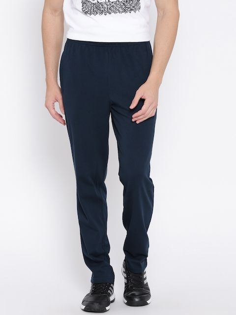Adidas Navy ESS SJ Tapered Fit Track Pants