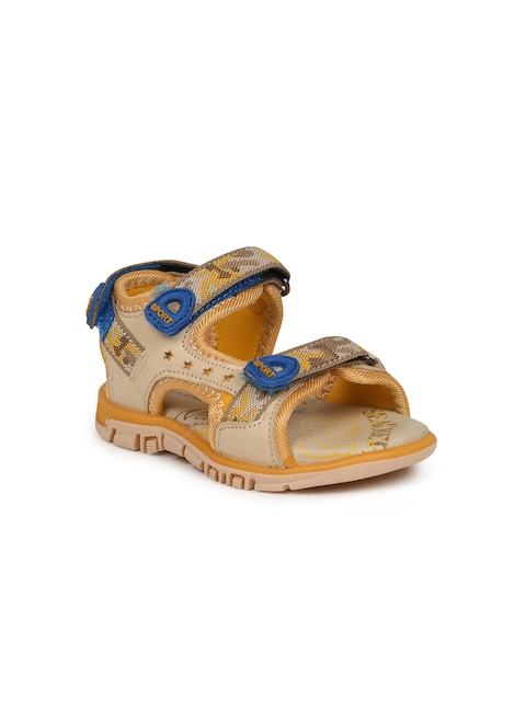 Fame Forever by Lifestyle Boys Beige Patterned Sandals