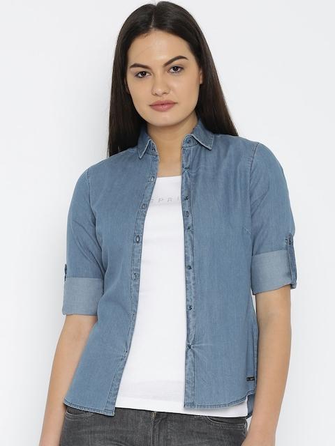 Park Avenue Blue Shirt