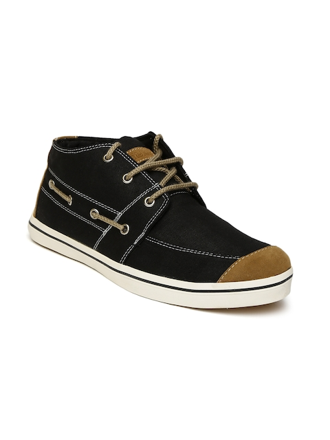 Duke Men Black Sneakers