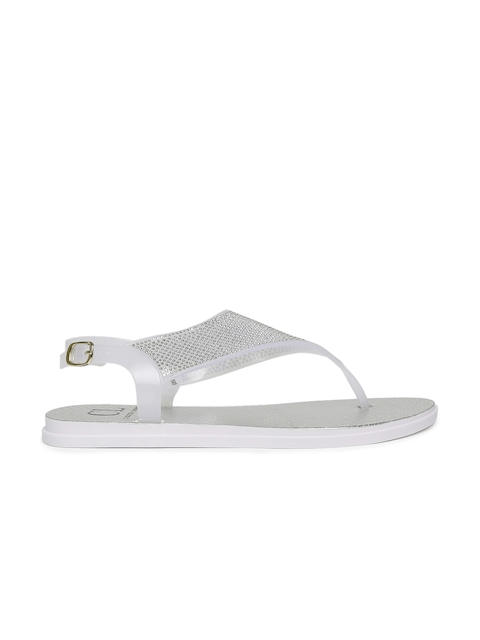 Carlton London Women White Solid Flats