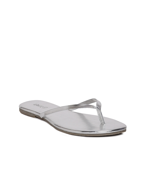 Lavie Women Silver-Toned Flats