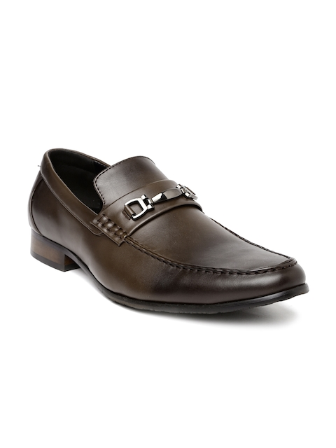 Tresmode Men Brown Semiformal Slip-Ons