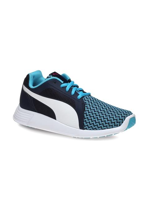 Puma Girls Blue Running Shoes