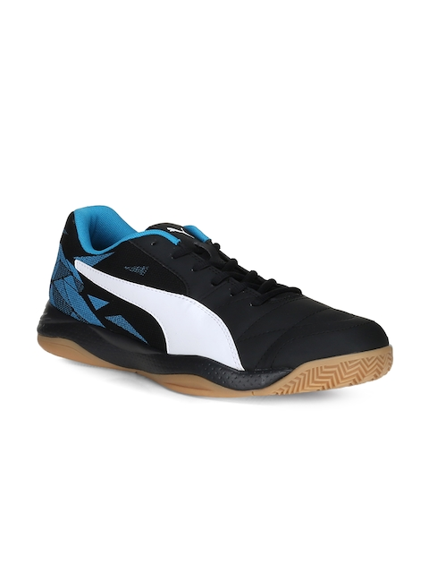 Puma Men Black Badminton Shoes