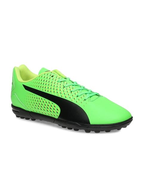 Puma Men Green Adreno III TT Football Shoes