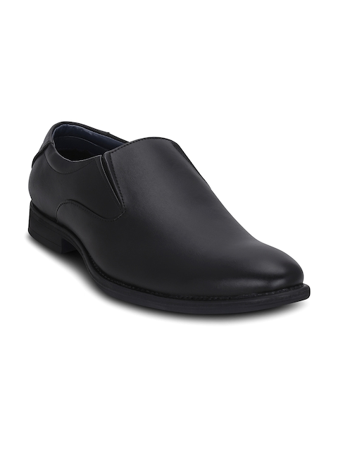 Get Glamr Men Black Semiformal Shoes