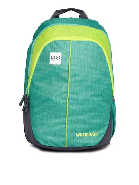 Wildcraft Unisex Green Printed Wiki 1 Backpack