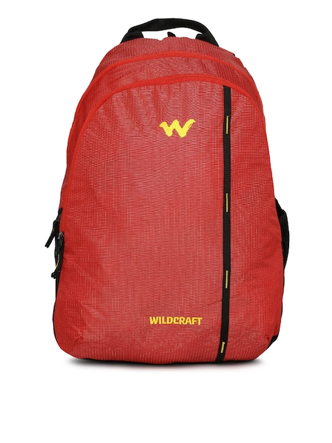 Wildcraft Unisex Red WC 1 Latlong 1 Backpack