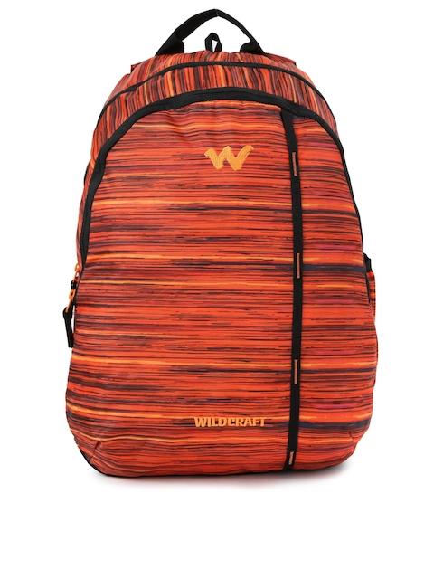 Wildcraft Unisex Orange Printed WC 1 Vistas 1 Backpack