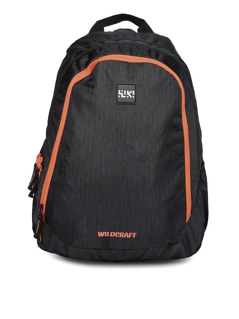 Wildcraft Unisex Black Printed Wiki 6 Laptop Backpack