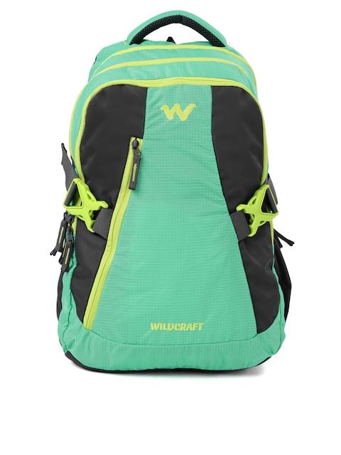 Wildcraft Unisex Green Textured WC 8 Latlong 7 Laptop Backpack