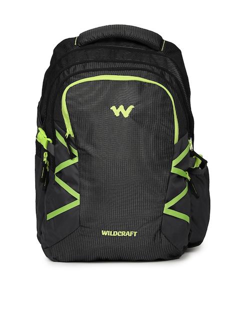 Wildcraft Unisex Black 9 Latlong 8 Laptop Backpack