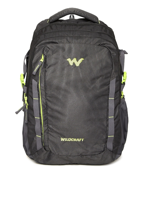 Wildcraft Unisex Charcoal Grey WC 10 Latlong 9 Patterned Laptop Backpack