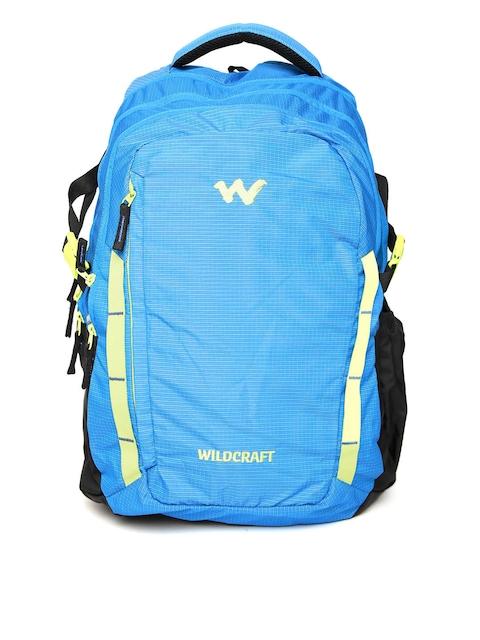 Wildcraft Unisex Blue WC 10 Latlong 9 Patterned Laptop Backpack