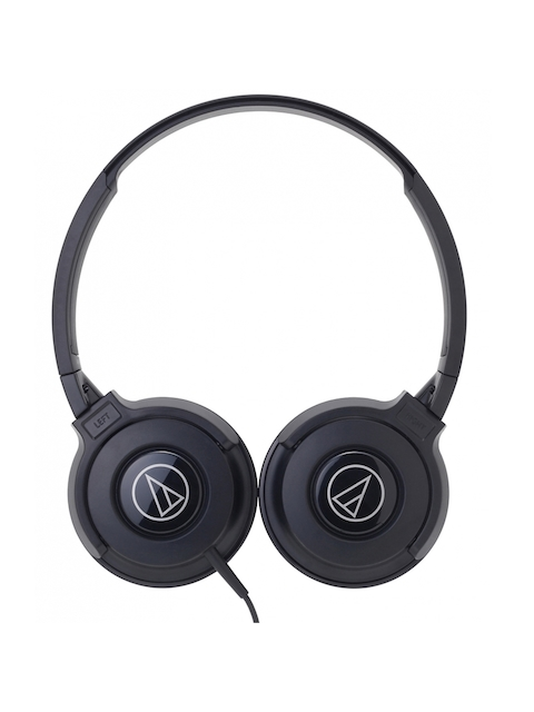 Audio Technica ATH-S100BBL Street Monitoring  On Ear Headphones, Black