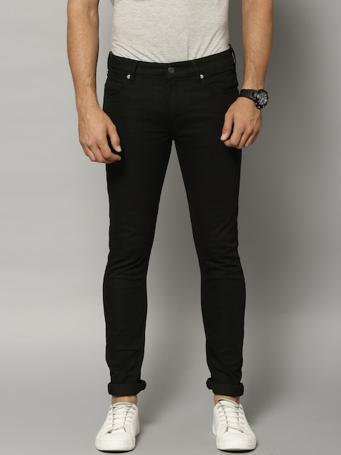 French Connection Men Black Skinny Fit Jeans