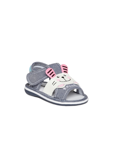 Kittens Girls Blue & White Sandals