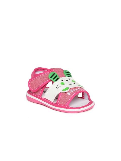 Kittens Girls Pink & White Sandals