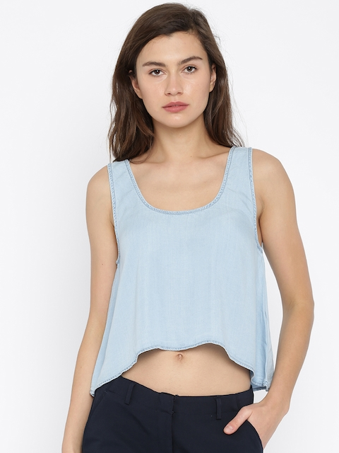 Vero Moda Women Blue Top