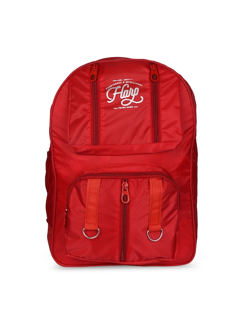 Harp Unisex Red Laptop Backpack