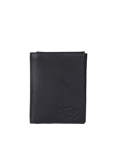 Harp Men Black Wallet