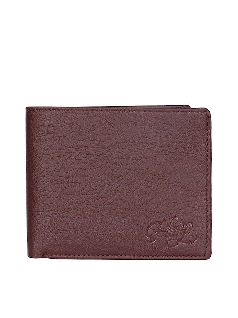 Harp Men Brown Leather Wallet