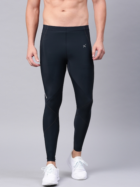 HRX by Hrithik Roshan Navy Active Compression Tights
