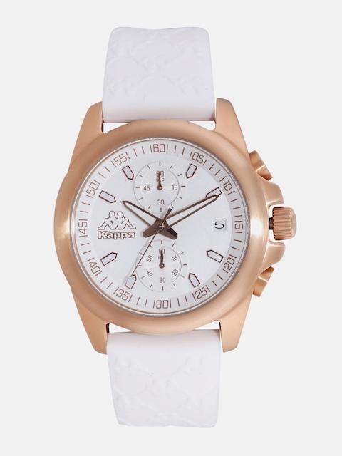 Kappa Women White Chronograph Watch KP-1404L-C