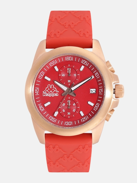 Kappa KP-1404L-E Red Dial Chronograph Women's Watch (KP-1404L-E)