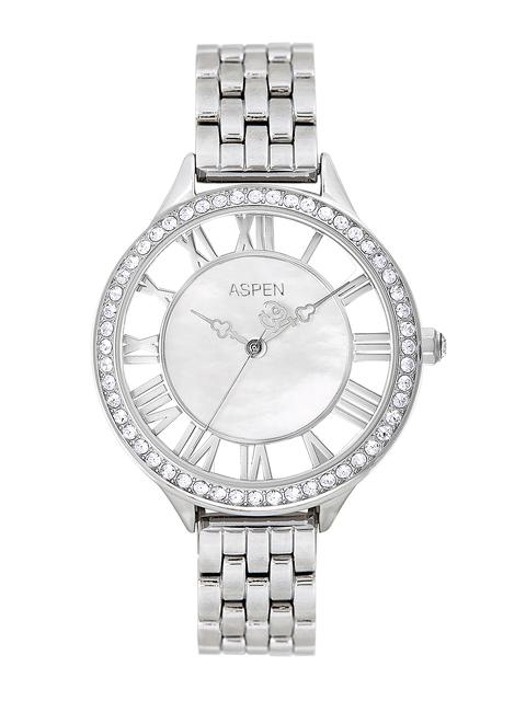ASPEN Women Silver-Toned Dial Watch AP2019