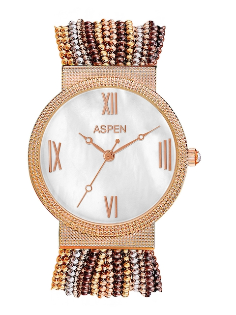 ASPEN Women Silver Dial Watch AP1707C1